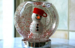 how to make your own snow globe