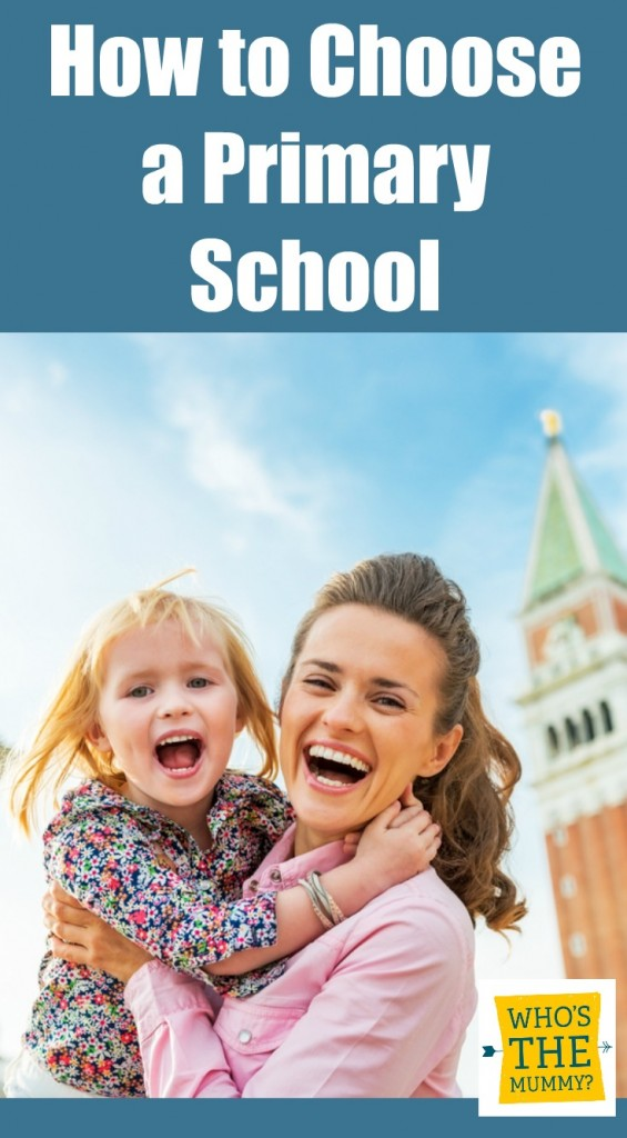 how to choose a primary school
