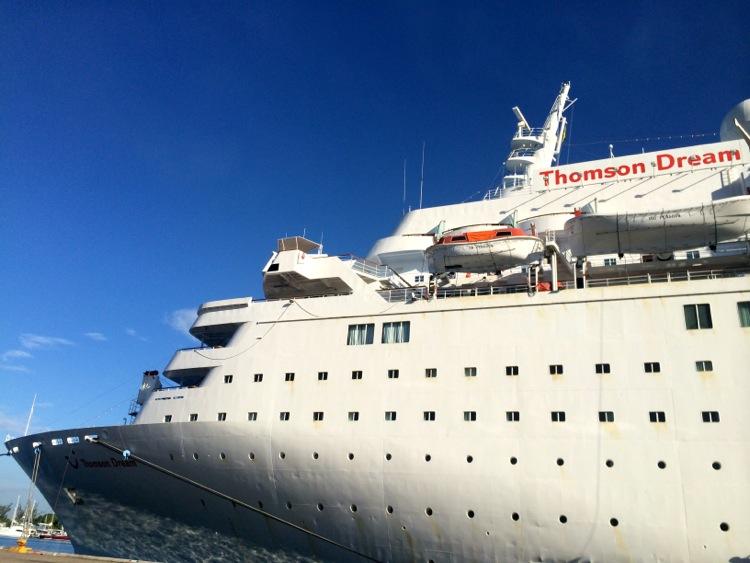 Thomson Dream Pride Of Panama Whos The Mummy - The thomson dream cruise ship
