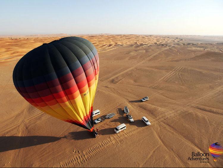 ballooning dubai