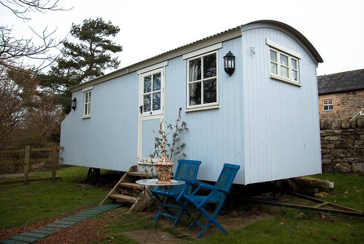 Falstone posh huts