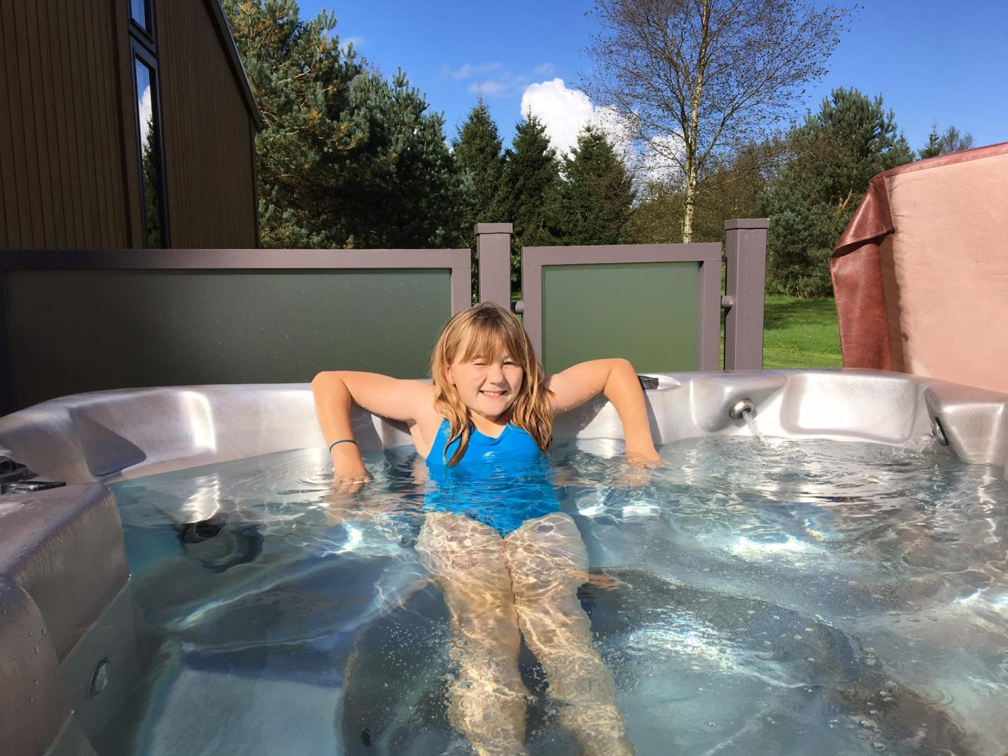 hot tub at darwin forest country park