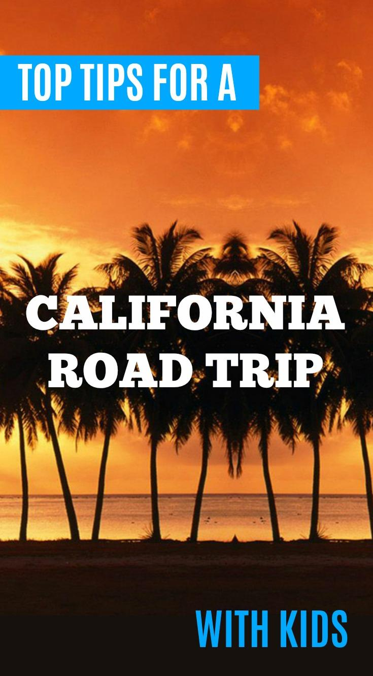 tips planning california road trip