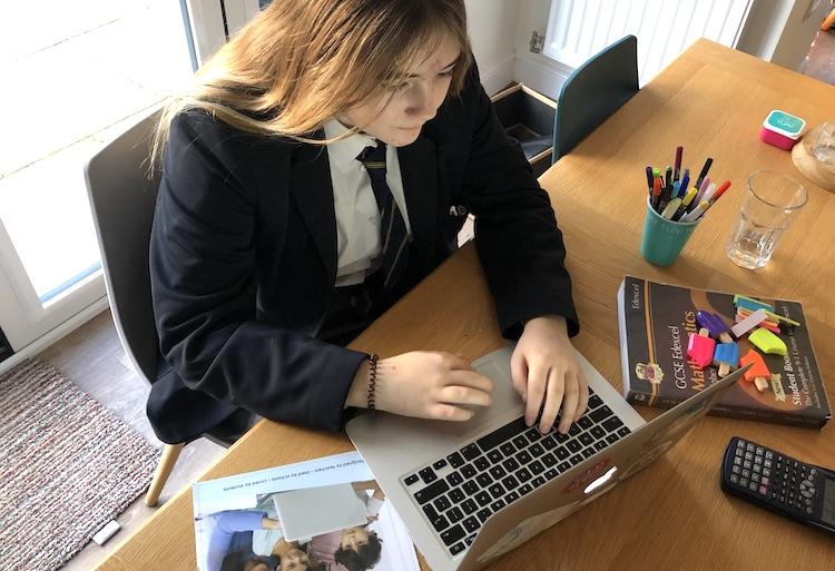 sharing GCSE grades online