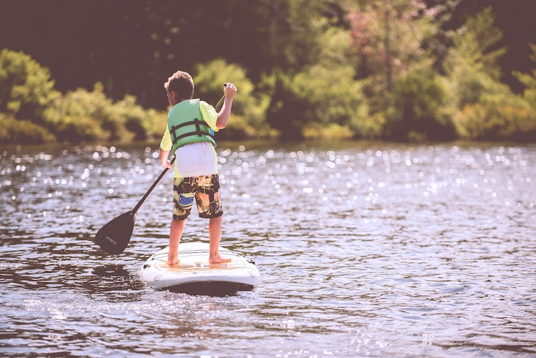 best places to paddleboard north west